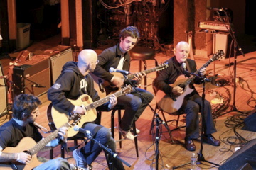 Phil Keaggy, Ian Keaggy, Kenny Greenberg, and Jason Truvey at Ogden Theater